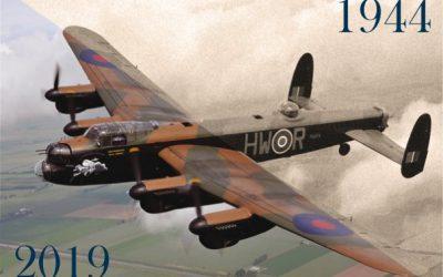 Flypast Lancaster bommenwerper boven Den Ham?